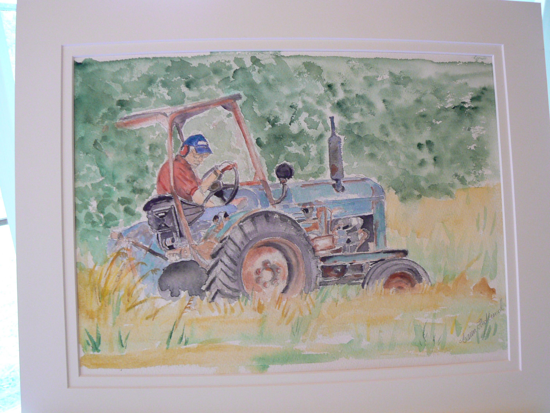 Ingmar och traktor
