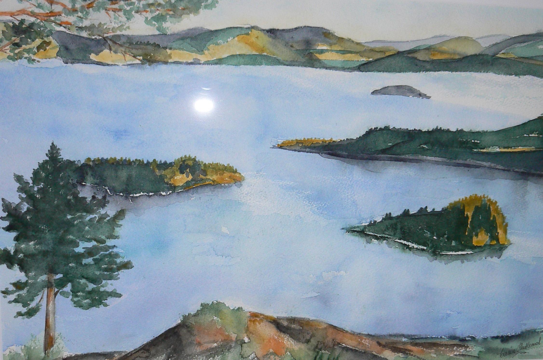 Utsikt från Storberget