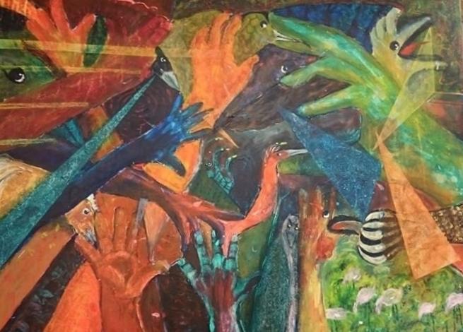 En handfull fåglar