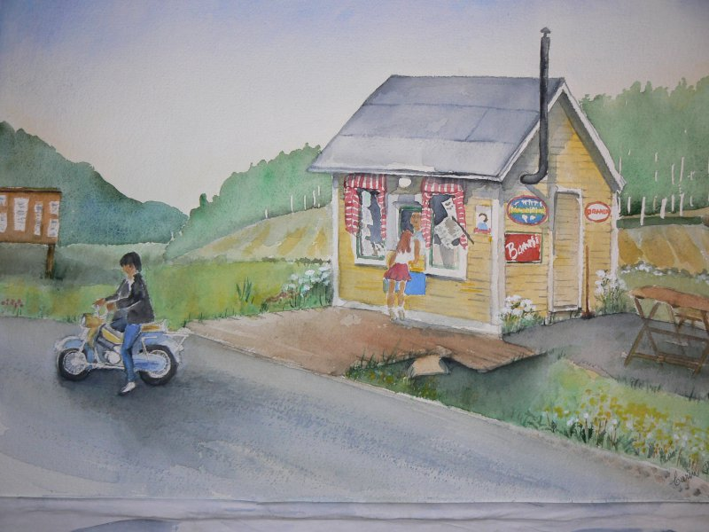 Kiosken i Öd
