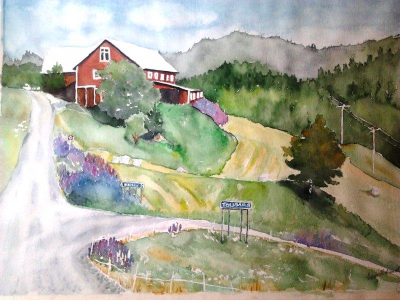 Nordingrå vägar